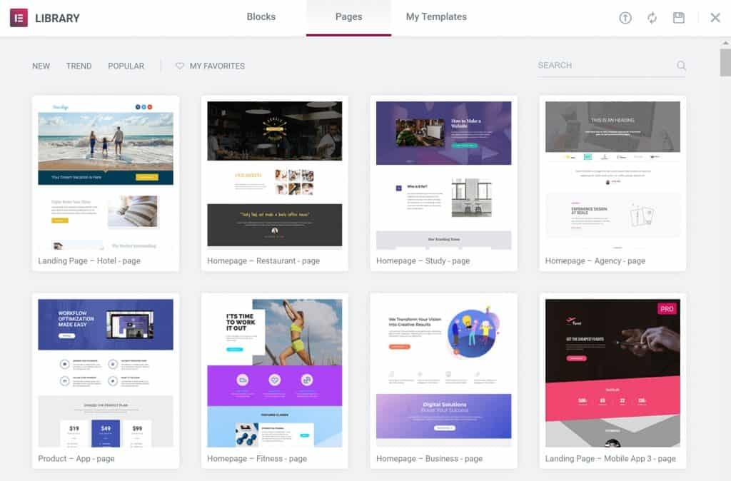 10 Best Free & Pro Elementor Templates Resources