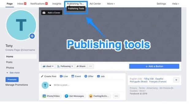 Social Networks Optimization: Facebook Page