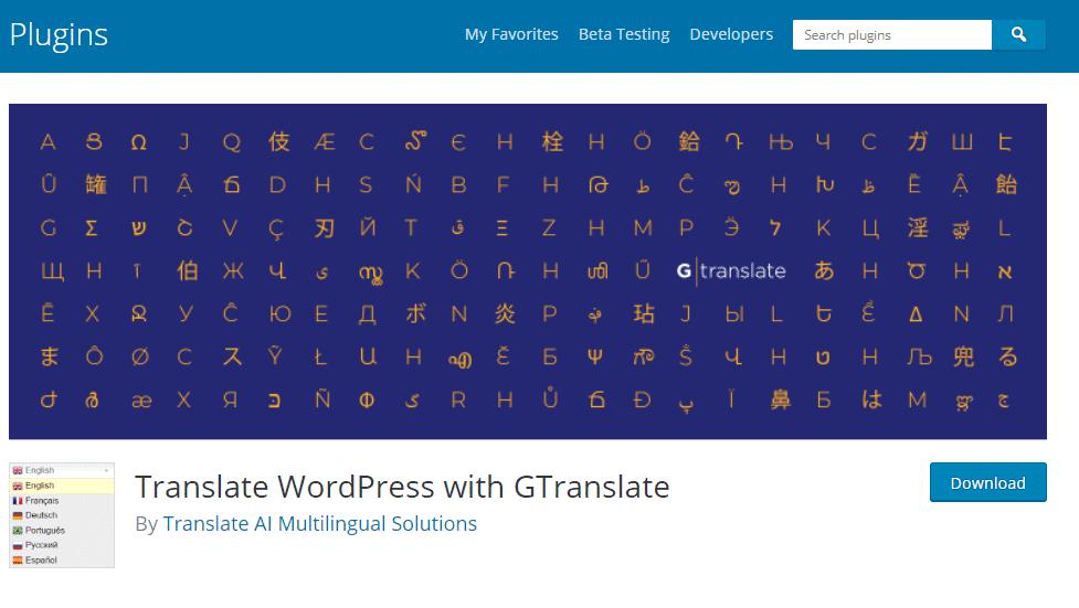 Free WordPress Translation Plugins