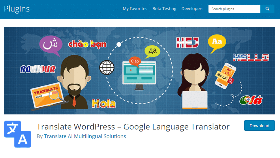 Free WordPress Translation Plugins