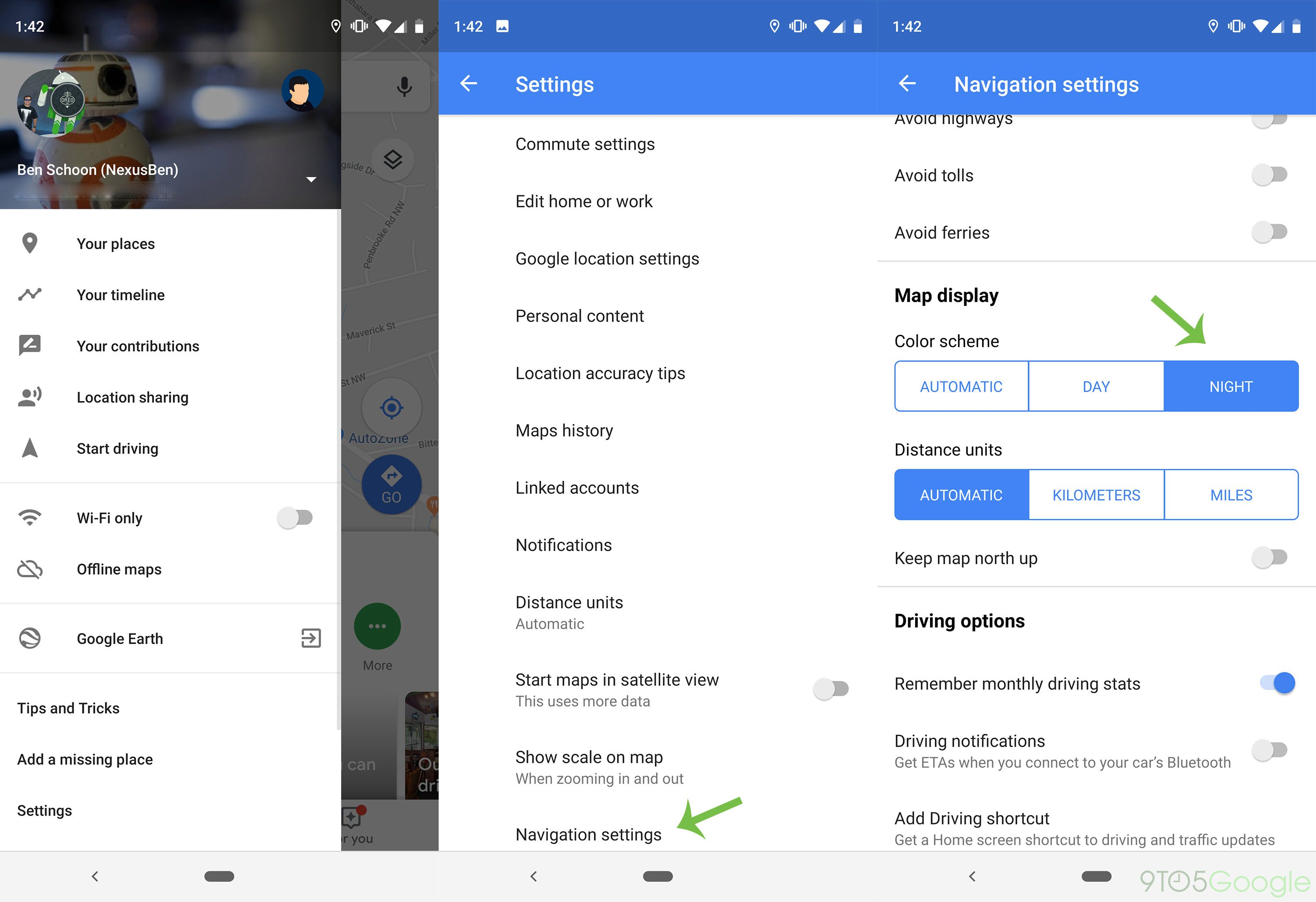 How to force Google Maps dark mode on Android - 9to5Google