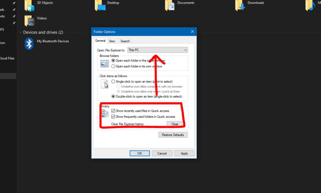 get old File Explorer back in Windows 10