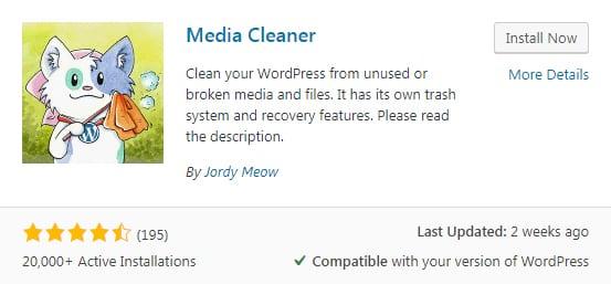 plugin Media Cleaner