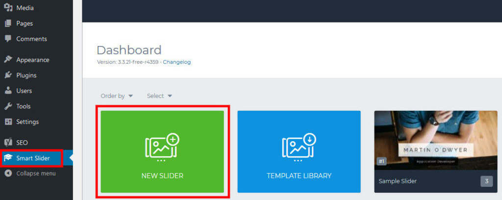 How to add video slider WordPress