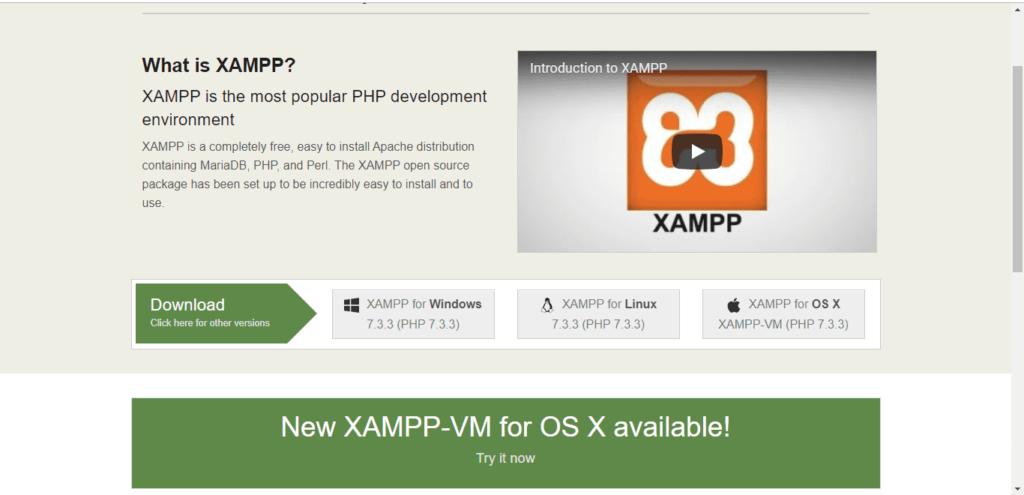 xampp site