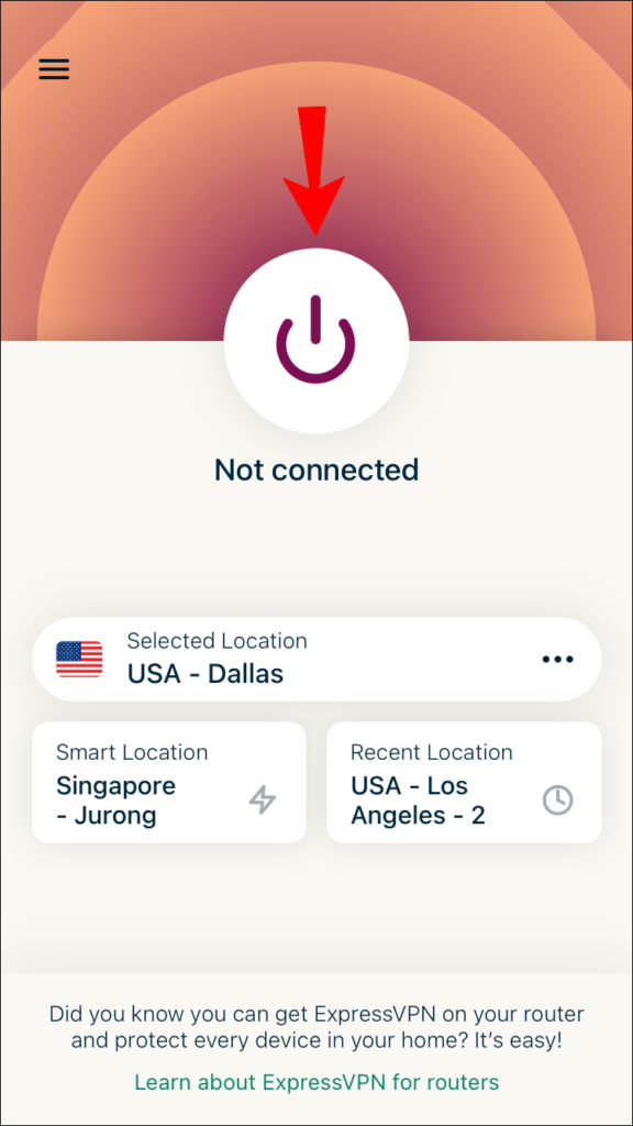 Connect to VPN.