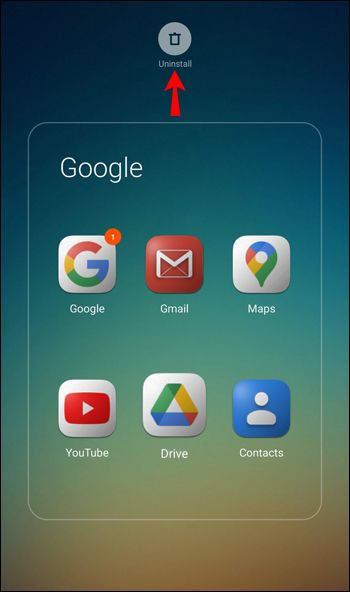 uninstall Google Drive from Android.