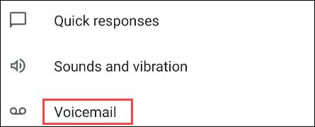 Pixel voicemail.