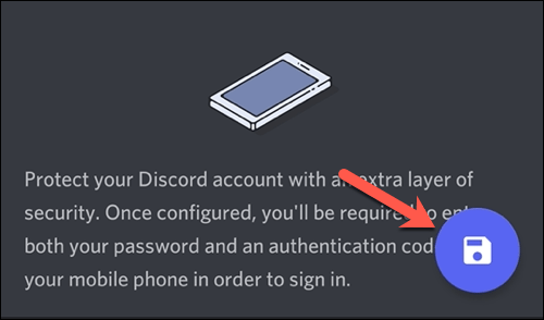 Save changes and new profile picture to Discord.