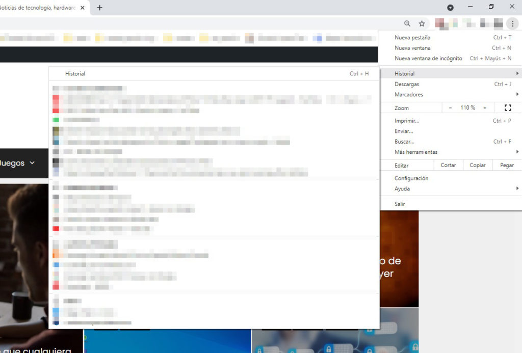 Reopen closed Chrome tabs.