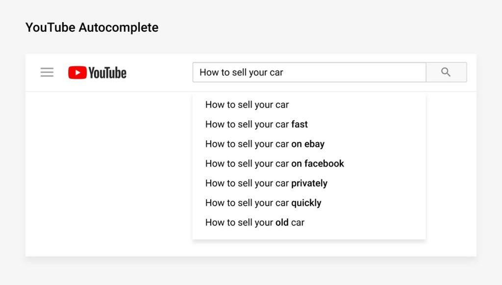 keywords youtube 3