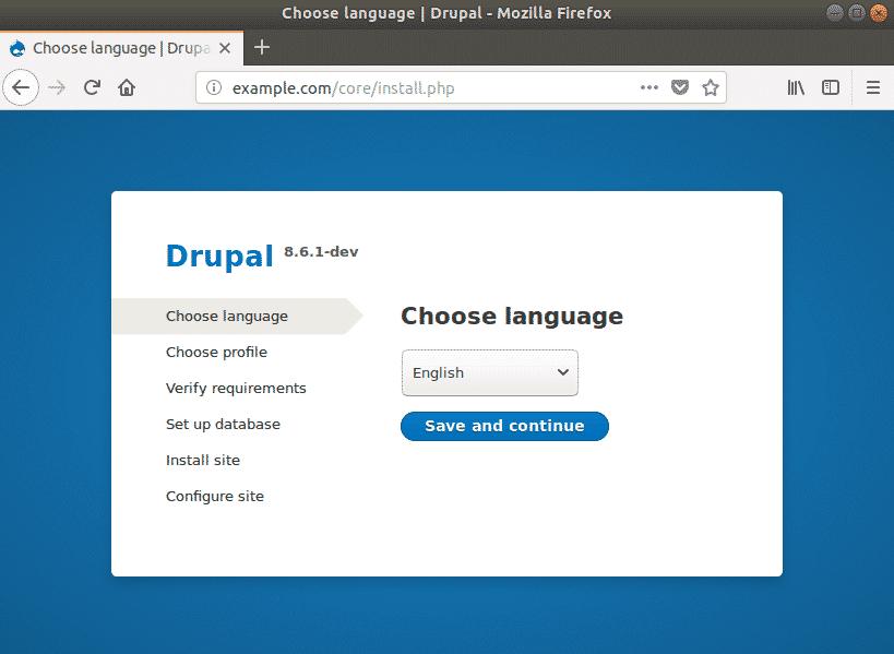 Drupal install composer